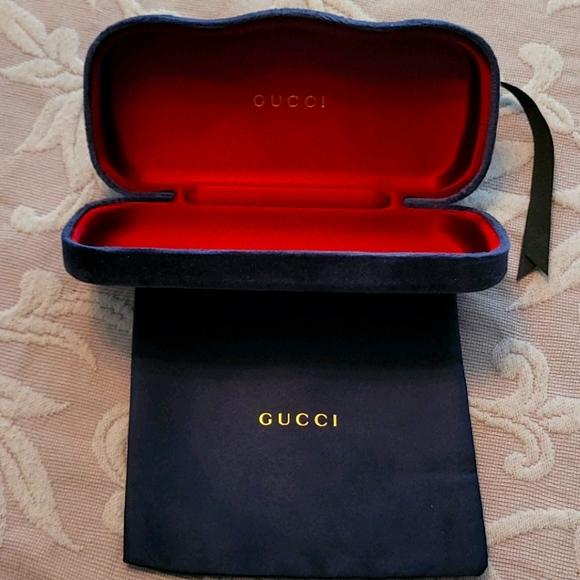 Authentic Gucci Eyeglass Case